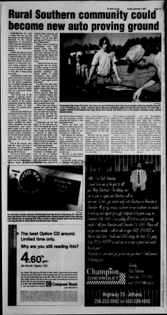 Athens News Courier, December 04, 2005, Page 34