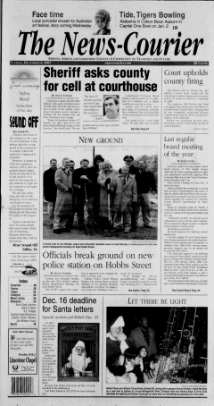 Athens News Courier, December 06, 2005, Page 1