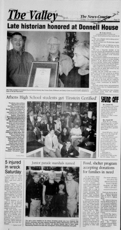 Athens News Courier, December 06, 2005, Page 9