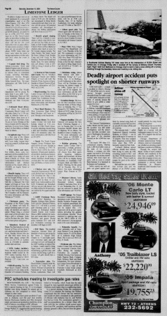 Athens News Courier, December 10, 2005, Page 27