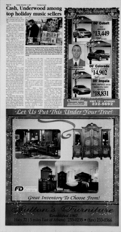 Athens News Courier, December 11, 2005, Page 31