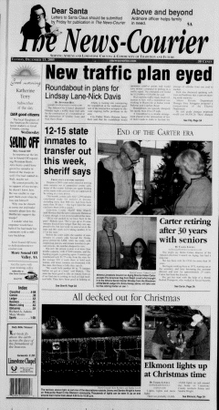 Athens News Courier, December 13, 2005, Page 1