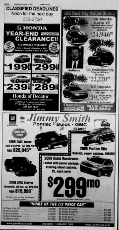 Athens News Courier, December 14, 2005, Page 39