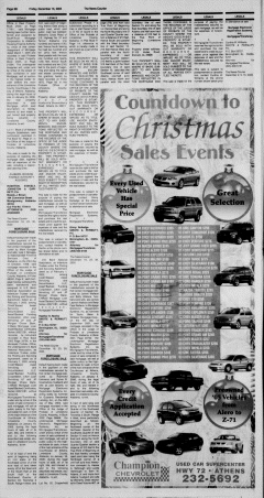 Athens News Courier, December 16, 2005, Page 43