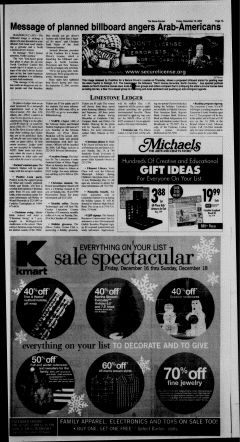 Athens News Courier, December 16, 2005, Page 14