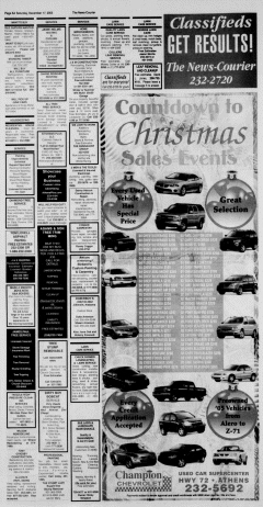 Athens News Courier, December 17, 2005, Page 11