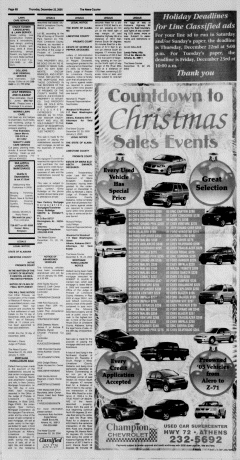 Athens News Courier, December 22, 2005, Page 35