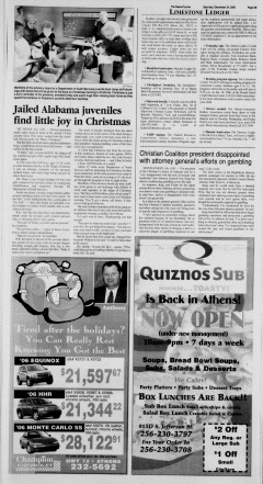 Athens News Courier, December 24, 2005, Page 21