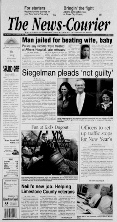 Athens News Courier, December 29, 2005, Page 1