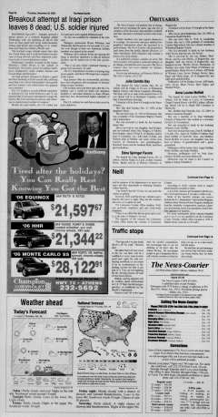 Athens News Courier, December 29, 2005, Page 3