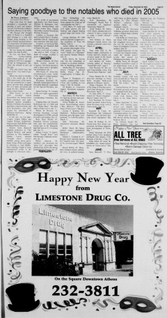 Athens News Courier, December 30, 2005, Page 53