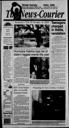 Athens News Courier, December 30, 2005, Page 2