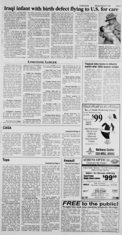Athens News Courier, December 31, 2005, Page 5