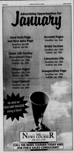 Athens News Courier, January 04, 2009, Page 31