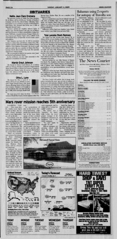 Athens News Courier, January 04, 2009, p. 4