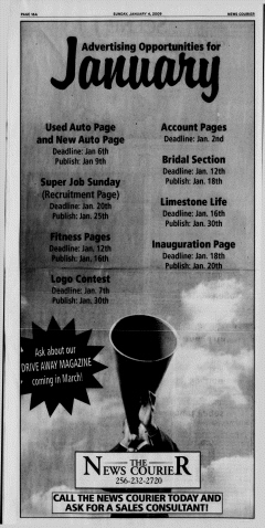 Athens News Courier, January 04, 2009, Page 32