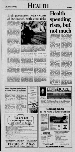 Athens News Courier, January 07, 2009, Page 16