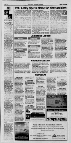 Athens News Courier, January 10, 2009, p. 8