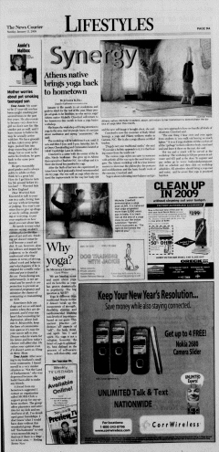 Athens News Courier, January 11, 2009, p. 17