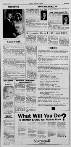 Athens News Courier, January 11, 2009, p. 21