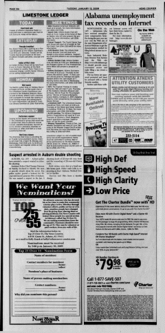 Athens News Courier, January 13, 2009, Page 16