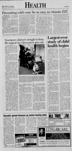 Athens News Courier, January 14, 2009, Page 15