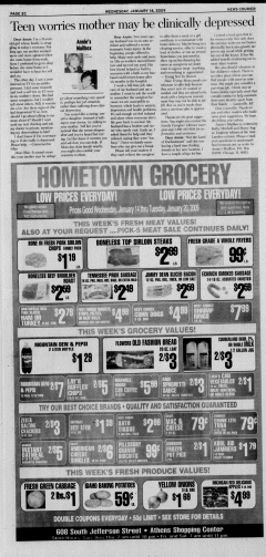 Athens News Courier, January 14, 2009, Page 39