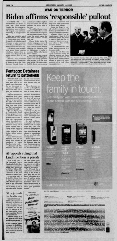 Athens News Courier, January 14, 2009, Page 14