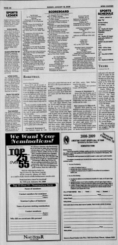 Athens News Courier, January 18, 2009, Page 35