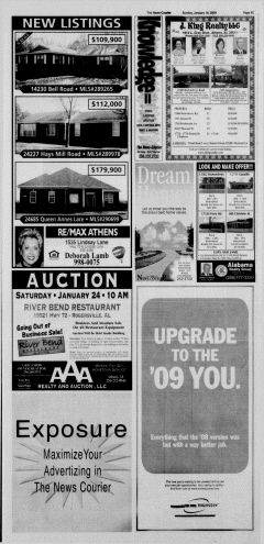 Athens News Courier, January 18, 2009, Page 58