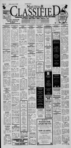 Athens News Courier, January 18, 2009, Page 60