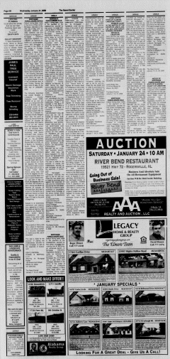 Athens News Courier, January 21, 2009, Page 43