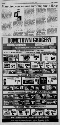 Athens News Courier, January 21, 2009, Page 51
