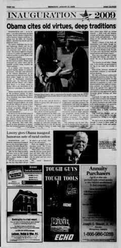 Athens News Courier, January 21, 2009, Page 28