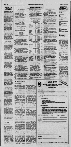 Athens News Courier, January 21, 2009, Page 36