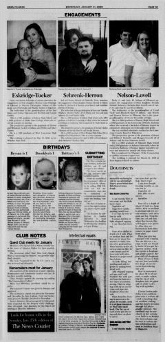Athens News Courier, January 21, 2009, Page 54