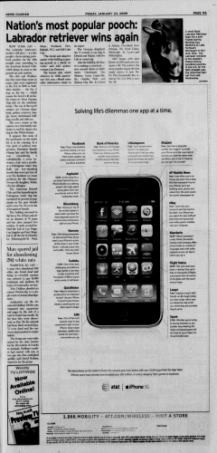 Athens News Courier, January 23, 2009, p. 21
