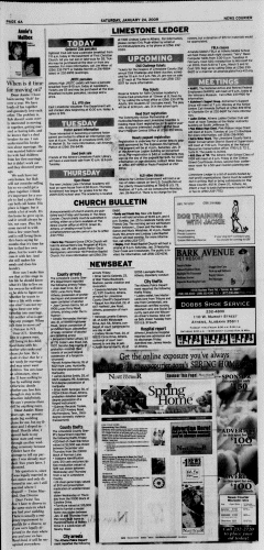 Athens News Courier, January 24, 2009, Page 7