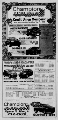 Athens News Courier, January 25, 2009, Page 71