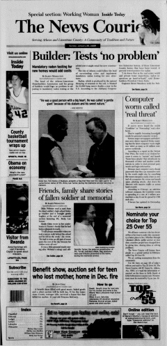 Athens News Courier, January 25, 2009, Page 2