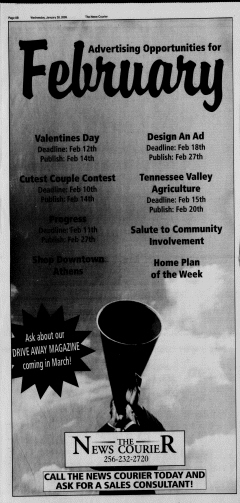 Athens News Courier, January 28, 2009, Page 5