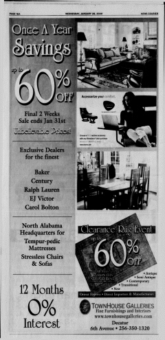 Athens News Courier, January 28, 2009, Page 32