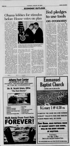 Athens News Courier, January 29, 2009, Page 11