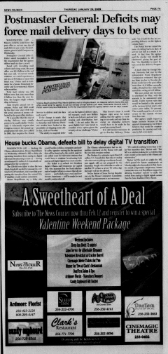 Athens News Courier, January 29, 2009, Page 13