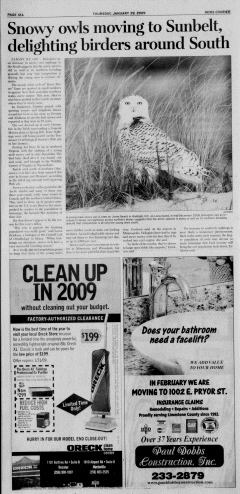 Athens News Courier, January 29, 2009, Page 23