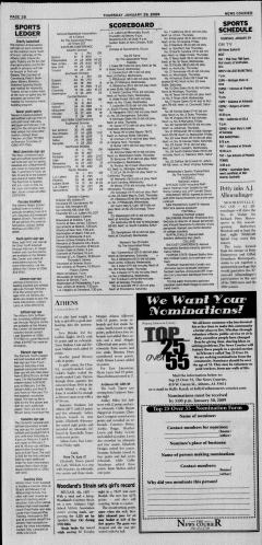 Athens News Courier, January 29, 2009, Page 35