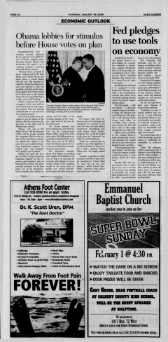 Athens News Courier, January 29, 2009, Page 12