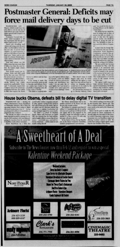 Athens News Courier, January 29, 2009, Page 14