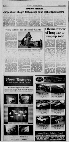 Athens News Courier, January 29, 2009, Page 20