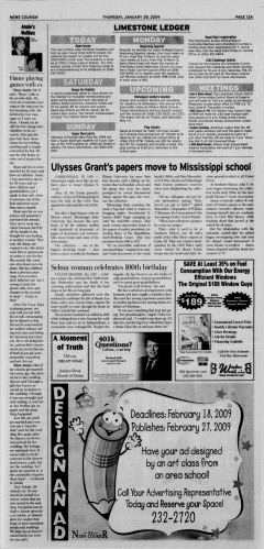 Athens News Courier, January 29, 2009, Page 26